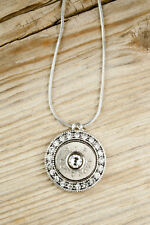 Fire & Ice Bullet Necklace