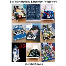 Star Wars Duvets, Bedding & Bedroom Accessories (Free UK P+P)