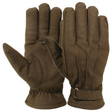 Mens Winter Dress Gloves Thinsulate Lining Outdoor Ski Cold Weather Glove Brown