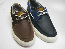 "MENS CLARKS DECK SHOE IN NAVY OR BROWN ""TALLMAST SAIL"""