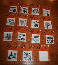NEW Studio G HALLOWEEN Acrylic Stamp ~Your Choice Several Varieties~
