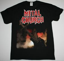 METAL CHURCH S/T 1984 HEAVY POWER METAL METALLICA OVERKILL NEW BLACK T-SHIRT