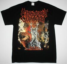MALEVOLENT CREATION THE TEN COMMANDMENTS 91 DEATH SUFFOCATION NEW BLACK T-SHIRT