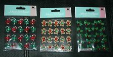 NEW Jolee's Boutique Christmas Dimensional Repeat Stickers ~Holly or Candy Canes
