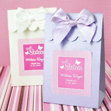 24 Sweet 16 Sixteen 15 Fifteen Birthday Party Candy Buffet Favor Bag Box Boxes