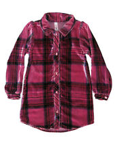 Love U Lots Mulberribush Girls Pink Plaid Velour Tunic Size 4, 5, 6, 6X, & 7 $56