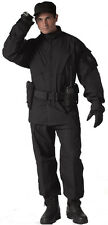 Black Rip-Stop Military Strategic Combat Fatigues SDU Uniform