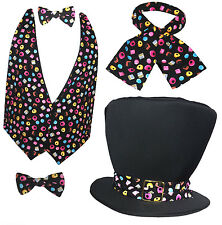 Mad Hatter Liquorice Allsorts Sweets Fancy Dress Accessories Book Week