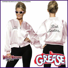 Licenced Grease Pink Lady Ladies 1970's TV Film 70s Fancy Dress Costume Jacket