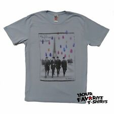 The Beatles Post Card In France Junk Food Licensed Adult Shirt S-XXL