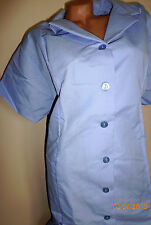 1 Best Collared Workwear Medical Dress Hospital Scrubs Nurse's  Blue