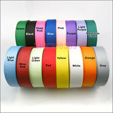 """25 Yards 1""""inch (25mm) Grosgrain Ribbon Hair Bow Craft/Gift Wrapping R0185"""