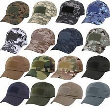 Military Operator Cap Low Profile Adjustable Tactical Army Baseball Hat
