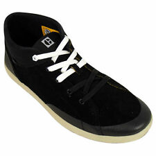 Mens Caterpillar CAT Flynn Black Oxford Trainer Shoes Suede Leather Trainers