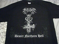 tsjuder desert northern hell shirt black metal death mutiilation beherit venom