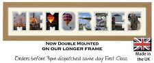 Memories Personalised Photo Frame by Photos in a word, Gift for Someone Special
