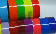 Solid Color Gloss Sign Vinyl. 5 year Oracal Vinyl, Various Sizes 12 inch rolls