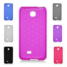 For LG Escape P870 Cover Rubber Gel Skin TPU Candy Case Cell Phone Accessory
