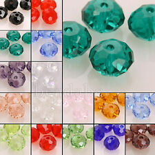 100pc Rondelle 3mm 5040 Crystal Beads For Swarovski Element Charms Free Shipping