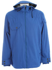 Foursquare Crew Snowboard Jacket True Blue Mens