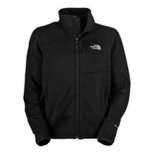 THE NORTH FACE MENS UK SIZE S M L XL XXL BLACK MOMENTUM JACKET COAT WITH FLEECE