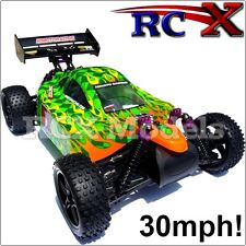 Fast RC Car Buggy Remote Control Model Electric Ver Of Nitro/Petrol 4x4 4WD 1/10