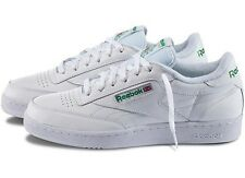 Reebok Always Classic  White Green CLUB C WIDE( 2E) Men's Shoes 21195 NEW