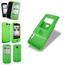 Wholesale Clearance JobLot Sale Green Silicone Gel Soft Mobile Phone Case Cover