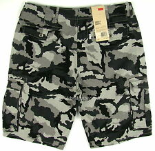 Levis Cargo Shorts - GRAY CAMO - Mens Levi's - Many Sizes