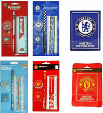 Arsenal Chelsea Manchester City United Dressing Room Sign Stationery Set Gift