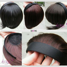 Cosplay style Women's Clip-on Bangs Fringe Wigs Hair wig band Headband Hairpiece