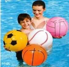 BESTWAY 41CM INFLATABLE BEACH BALL HOLIDAY SWIMMING POOL PARTY BLOW UP 930054