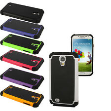 Shock Proof Dual Hybrid Silicone Hard Case For Samsung Galaxy S4 i9500 i9505
