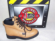 Justin Original Workboots Youth 780Y Copper Caprice Lace-Up Boots