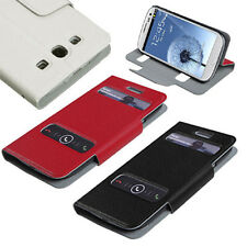 Wallet Flip Book Style Case Pouch for Samsung i747 L710 T999 I9300 Galaxy S III