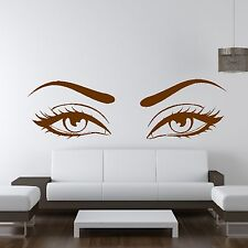 Sexy Eyes Wow Modern Beauty Salon Valentine Wall Decoration Sticker Gift Home M5