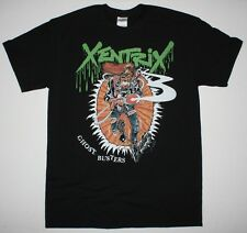 XENTRIX GHOST BUSTERS  THRASH METAL KREATOR EVILE NEW BLACK T-SHIRT