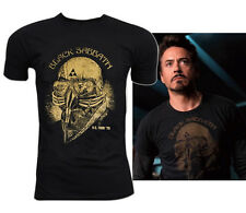 New Black Sabbath US TOUR 78 Iron Man Avenger Tony Stark Adult Retro VTG T-Shirt
