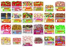 HARIBO SWEETS FULLY SEALED TUBS BOXES 24 VARIETIES WHOLESALE DISCOUNT DRUMS