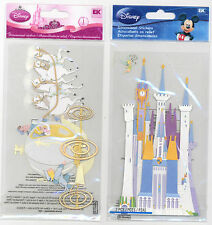 U CHOOSE  Disney PRINCESS CARRIAGE CASTLE 3D Stickers cinderella