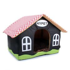 HY NEW Lattice Roof Soft Cozy Luxury Small-Medium Dog Cat House Pet Bed