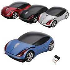 USB 2.4GHz Sans Fil Optique Voiture Souris Wireless Mouse Pr PC Laptop Macbook