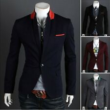 Mens Casual TOP Design Sexy Slim FIT Blazers Coats Suit Jackets  4 size 2701