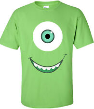 Monster Inc Tee | Mike Sully T-Shirt | Adults Animation 2013 | SMILE Monster Uni