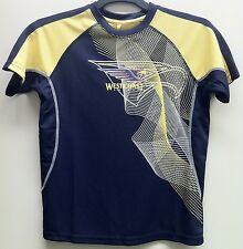 WEST COAST EAGLES OFFICIAL AFL YOUTH TRAINING T-SHIRT NEW WITH TAG ($34.99rrp)