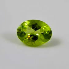 Masterpiece Collection: Oval Faceted Genuine Peridot (5x3mm to 10x8mm)