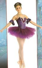 SUGAR PLUM w/Sleeves Ballet Tutu Christmas Dance Costume Child X-Small & Adu XL