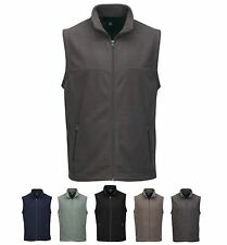 MEN'S MID-WEIGHT, ANTI-PILL, MICRO FLEECE VEST, POCKETS, 5 COLORS! S-4XL & TALL