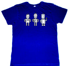 Funny tshirt men or women angry robots tee alternative apparel