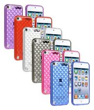 * Motif design Housse Etui Coque SILICONE DIAMANT CASE POUR APPLE IPOD TOUCH 5